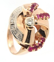 Women's 14kt Rose Gold Cluster ring - $899.00