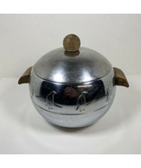 Vintage West Bend Penguin Ice Bucket Hot Cold Insulated Server Mid Centu... - $64.30