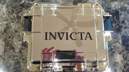Invicta 3 Slot Lemon Gold Mirror Finish Limited Edition Dive Case EXTREMELY RARE - $99.99