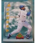 1994 Pinnacle The Run Creators #RC16 Greg Vaughn Milwaukee Brewers Baseb... - $1.00
