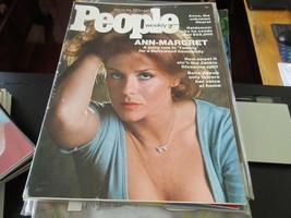 People Magazine , Ann Margaret , 3/24/75 , Haldeman , Jackie Gleason ,... - $24.75