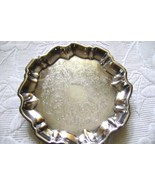 Wallace Silverplate Footed Candy/ Relish Dish # 1525 - $12.00