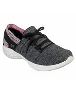 Skechers Black Pink shoes Women sock like Slipon Sport Comfort Casual Wa... - $39.99