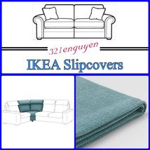 IKEA LIDHULT Slipcover Cover for Corner section Gassebol blue-gray 904.056.09 - $108.88