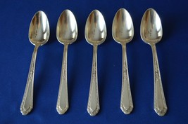 5 Homes & Edwards Romance 1925 Teaspoons - $24.75