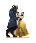 Belle and the Beast Beauty Lifesize Cardboard Cutout Standups Disney Lif... - $39.55