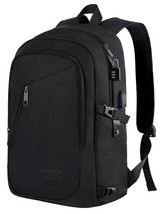 Anti Theft Business Laptop Backpack with USB Charging Port Fits 15.6 inc... - $32.56