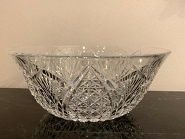 "Waterford Crystal Mooncoin 9 3/8"" Bowl - $105.00"