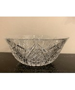 """Waterford Crystal Mooncoin 9 3/8"""" Bowl - $105.00"""