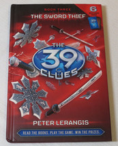 The 39 Clues: The Sword Thief 3 by Peter Lerangis 2009 Hardcover Book Sc... - $24.74