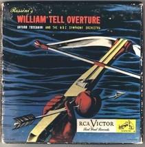 Arturo Toscanini NBC Symphony Orchestra 45 rpm William Tell 2 Discs Red ... - $12.76