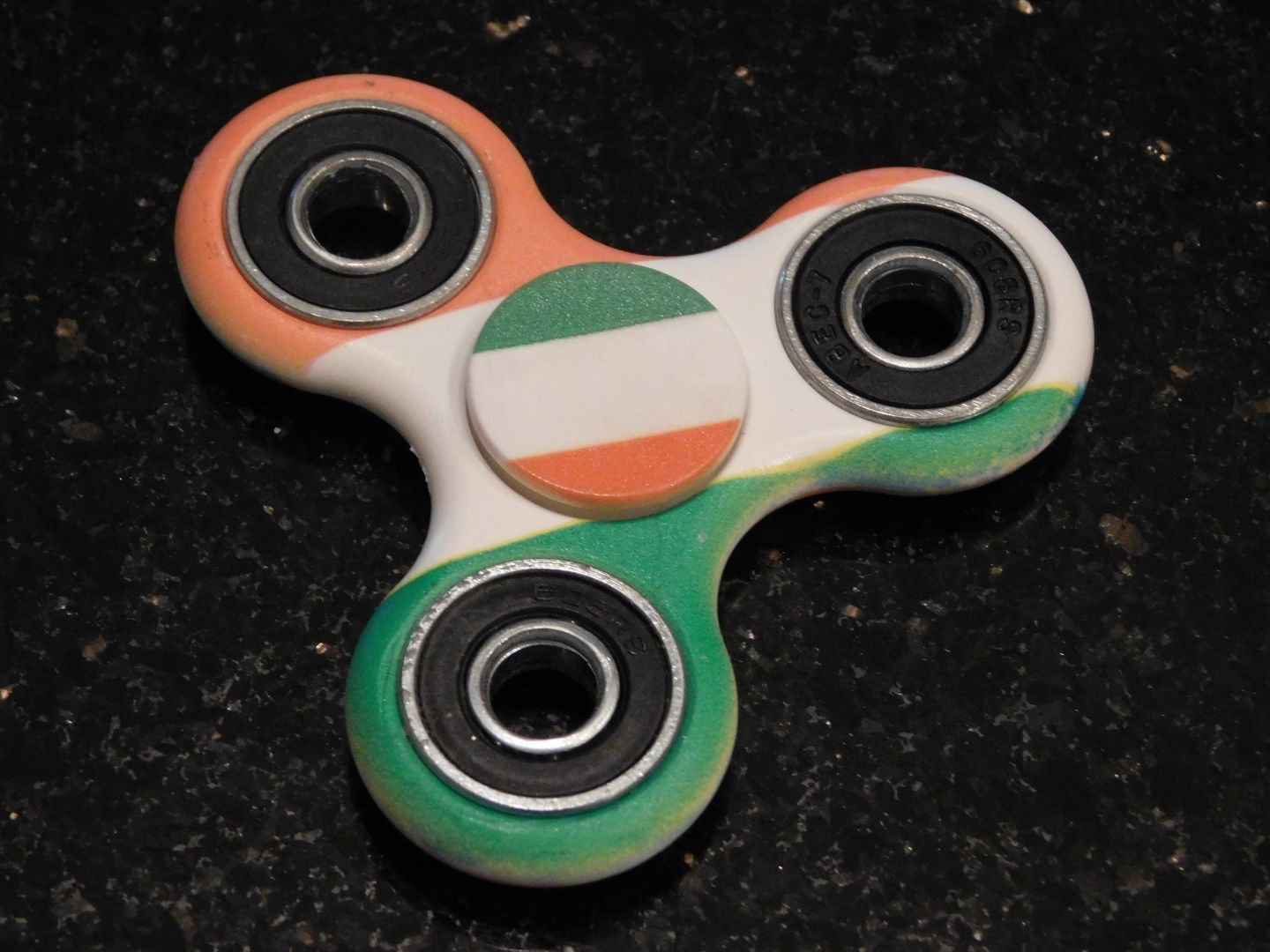 Used, Irish Flag Fidget Spinners for sale  USA