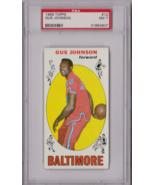 1969 Topps Gus Johnson #12 PSA 7 P623 - $33.79