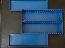 TWO USED PCGS BLUE CERTIFIED SLAB STORAGE BOXES NO TAPE, WRITING, LABEL image 2