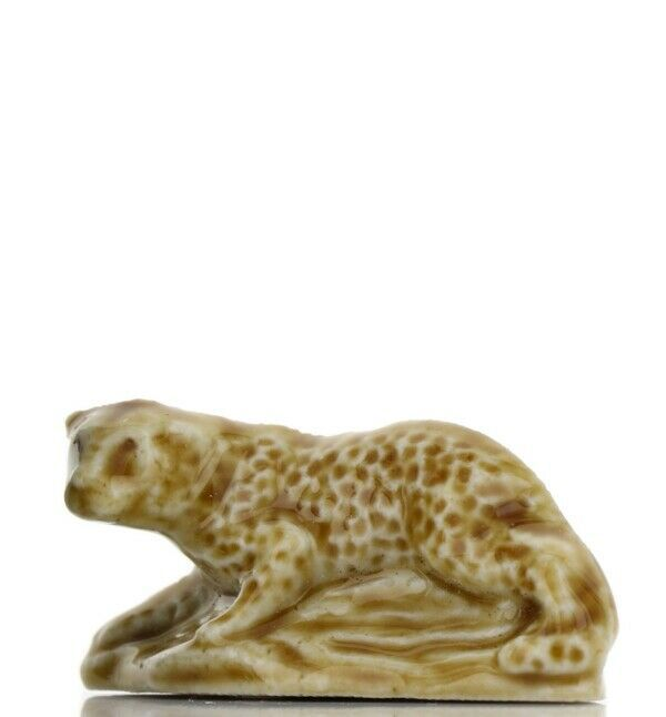 Whimsies Porcelain Figurine Miniatures by Wade Leopard