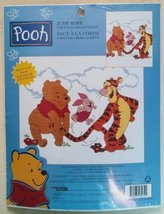 Cross Stitch Kit Disney Winnie the Pooh and Friends Jump Rope by Leisure Arts  - $12.00