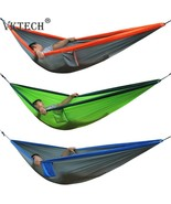 New Double Person Travel Camping Hammock Nylon Fabric Parachute Hammock ... - $22.40