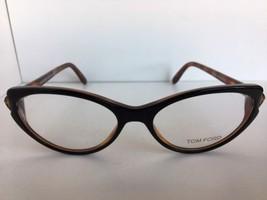 New Tom Ford TF 5285 TF5285 005 Black 53mm Cats Eye Women's Eyeglasses F... - $95.39