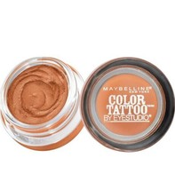 New Maybelline Color Tattoo 24 Hour Eyeshadow #10 Fierce & Tangy Sealed ... - $6.93