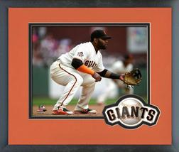 Pablo Sandoval 2018 San Francisco Giants Fielding -11x14 Matted/Framed Photo - $43.95