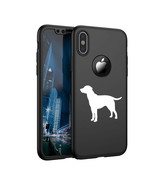 For Apple iPhone X XS Max XR 360° Thin Case Cover Screen Lab Labrador Re... - $14.99