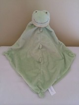 Angel Dear Frog Security Blanket Lovey Light Green Knotted - $13.85