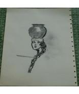 Nice Original Graphite Sketch, VERY NICE DRAWING - $4.94
