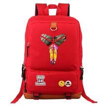 Basketball NBA Lakers 24 Kobe Bryant Mamba  School Bags Water Proof Back... - $28.99