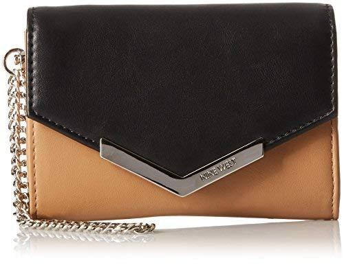 Nine West Table Treasure Wristlet Wallet With Pouch Black