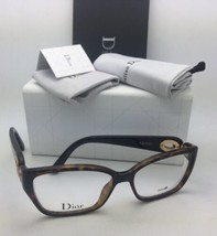 Neu Christian Dior Brille CD 3267 Ewf 54-15 130 Havanna Tortoise-Brown Rahmen