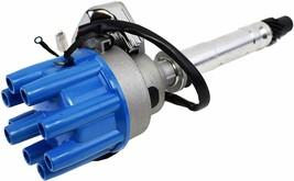 Chevy GM SBC BBC R2R Complete Distributor 283 305 307 327 350 400 396 427 Blue image 2