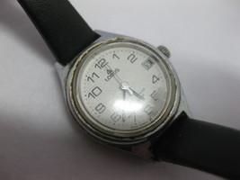 Lorus V242-0020 White Face Wrist Watch V242-0010 w/ Fresh Battery - $29.69