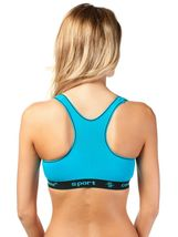 Coobie Intimates Pack of 6 Women's Supportive Molded Cup Sports Bra 6899 image 6