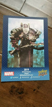 2019 Sdcc Comic con Promo Tarjeta Upper Deck Marvel Magus Bill Sienkiewicz - $11.86