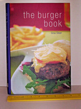 BURGER COOK BOOK w/ vegetarian + poultry + DRINKS chapters BBQ GRILL - $4.99