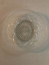 """Imperial Glass Cape Cod Saucer Depression Clear 7"""" Plate   - $5.90"""