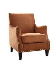 Acme Sinai Orange Fabric Accent Chair - $680.19