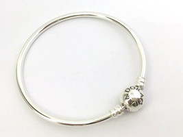 "Authentic Pandora Sterling Silver Bangle Bracelet, 590713 -19 (7.5"") New - $53.06"