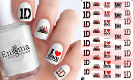 One Direction Nail Decals (Set of 41) - $4.95