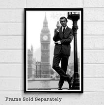 007 James Bond George Lazenby Illustration #1 - British Spy Film Movie - Poster  - $19.95+