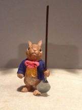 Dept 56 Easter Figurines - Gardening Rabbit with Shovel - EUC - $11.95