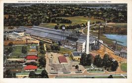 Masonite Corporation Plant Laurel Mississippi linen postcard - $5.89