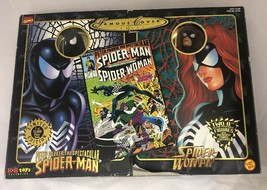 """1998 MARVEL COMICS Famous Cover Spider Man & Spider Woman 8"""" ultra figures Toy - $34.65"""