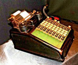 Antique Burroughs Hand Crank Adding Machine AA19-1533 image 6