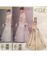 Vogue Bridal Original P928/2775 Off Shoulder Wedding Gown,Pleated Skirt,... - $35.00