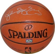 "Julius Erving signed Spalding Indoor/Outdoor New Logo Basketball ""Dr. J""... - £168.35 GBP"