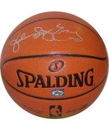 "Julius Erving signed Spalding Indoor/Outdoor New Logo Basketball ""Dr. J""... - £158.33 GBP"
