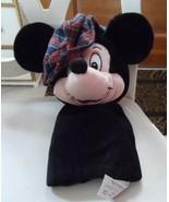 "Disney Mickey Mouse wearing plaid golf hat GOLF Club COVER 12"" NWT - $60.00"