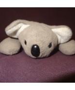 "Koala Bear Mel 1996 Ty Beanie Babies Plush Stuffed Animal 2"" Gray Cream - $9.99"