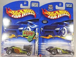 2002 Hot Wheels #47 First Edition I CANDY Lime w/Clear & Orange Window Variants - $9.50